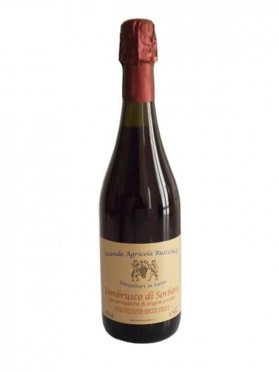 Vin mousseux sec Lambrusco Sorbara DOP
