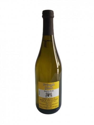 Vino Bianco Frizzante Marca Trevigiana IGT